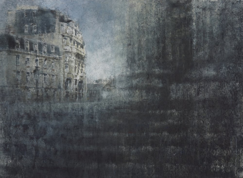 Paris II, 52x70 inches