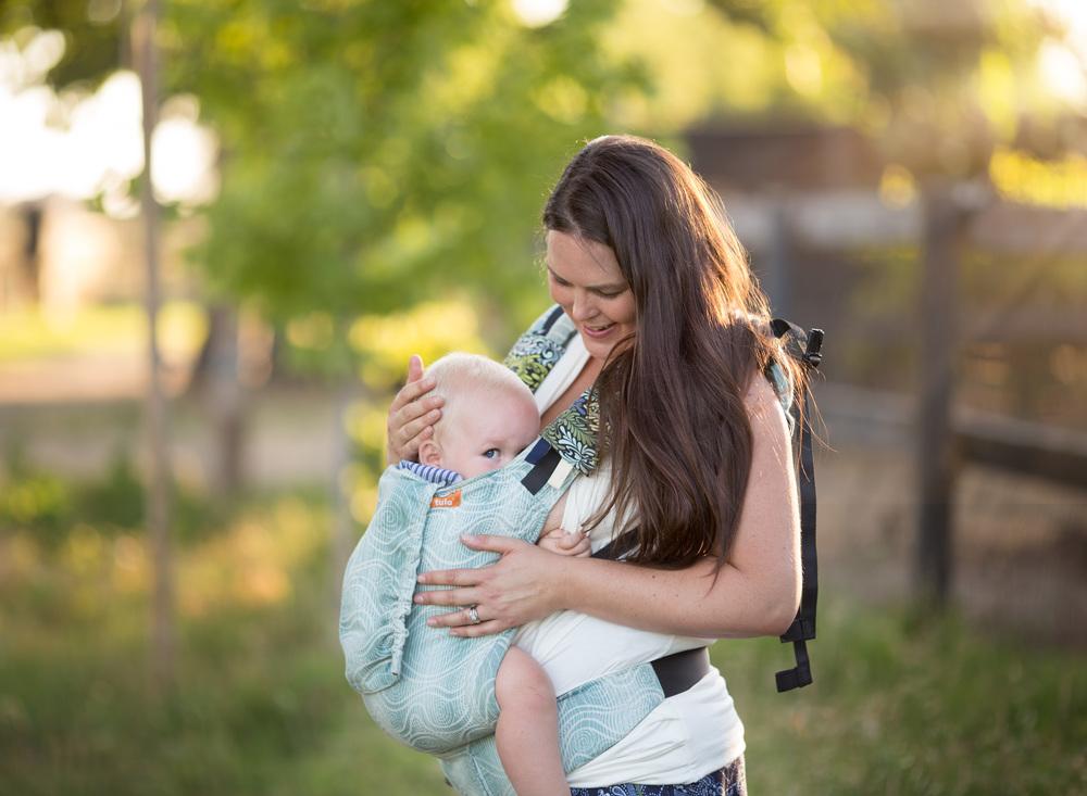 Babywearing Photography Lodi