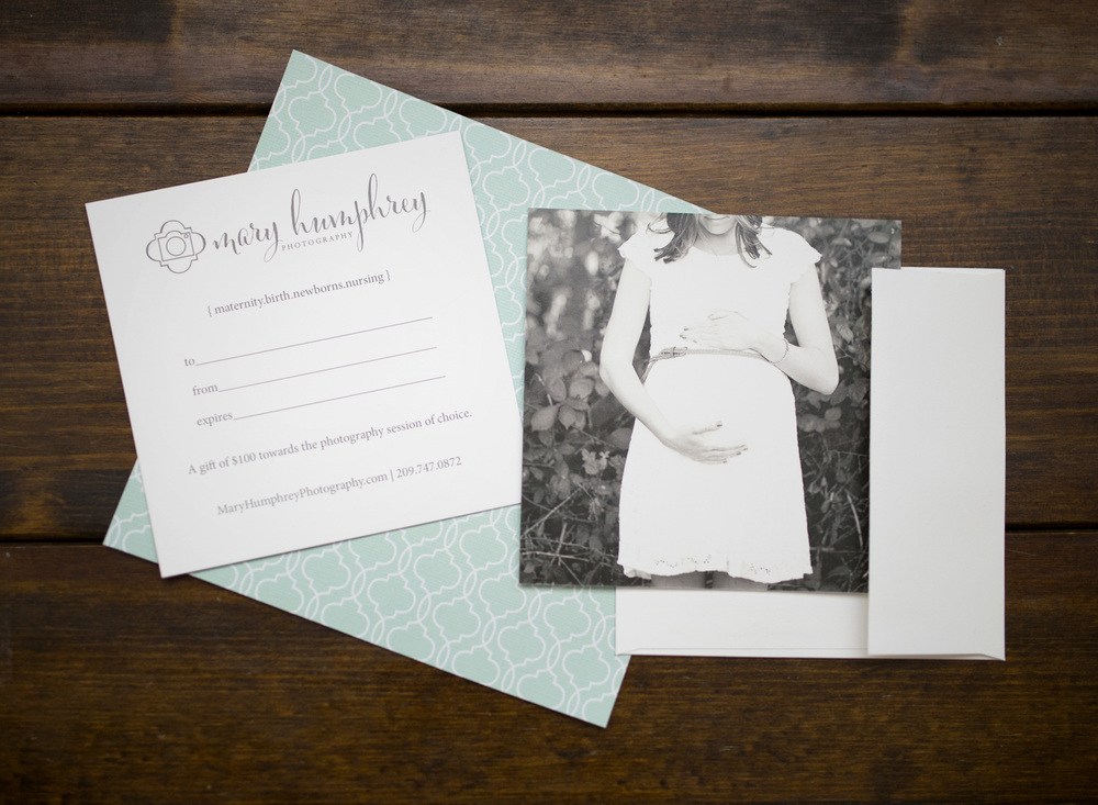 Mary Humphrey Photography gift card