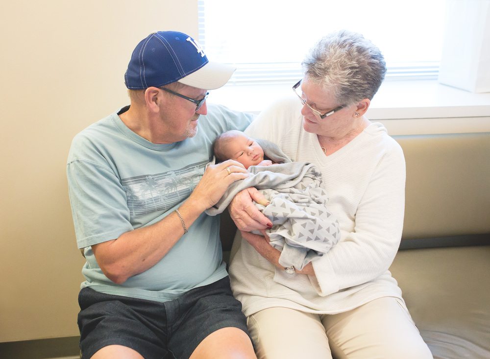 Grandparents and Newborn