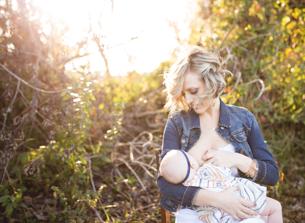 Lodi Lake Photography - Nursing / Breastfeeding Mother