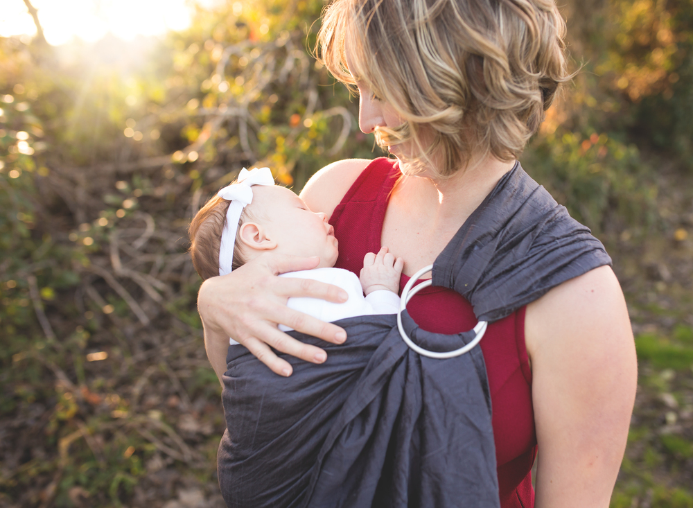 Baby wearing Photography