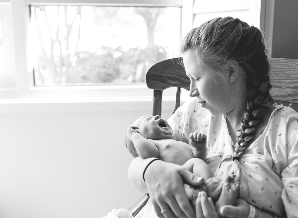 In-Hospital Newborn Photography - Tracy, CA
