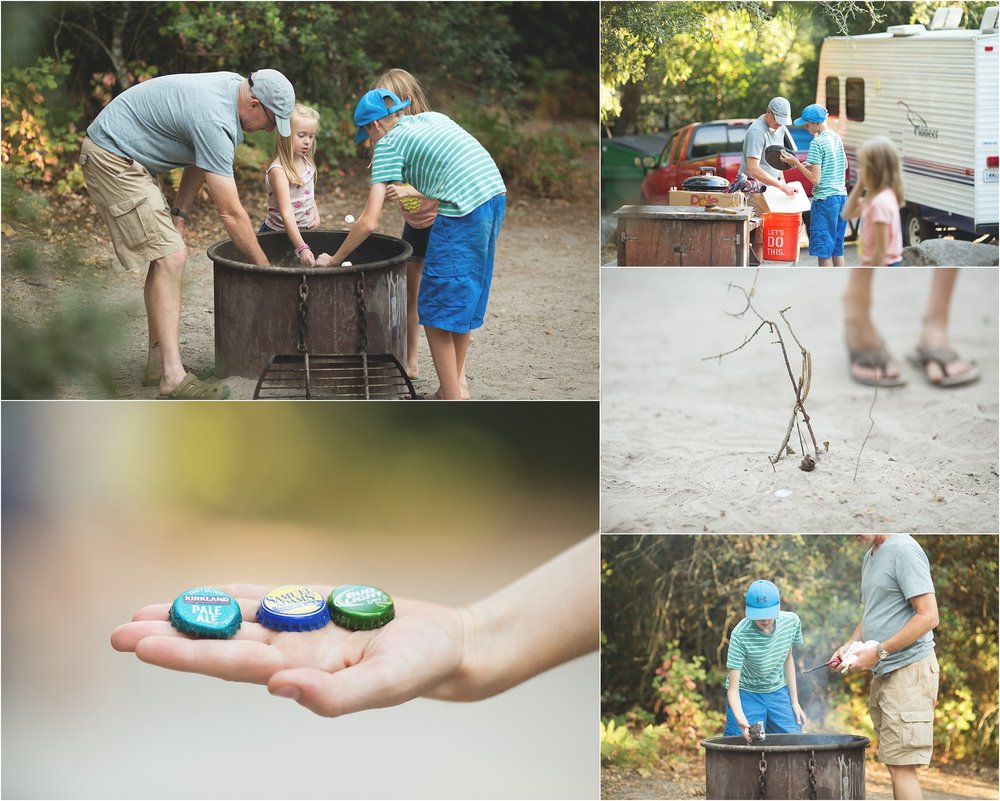 Santa Cruz Camping Trip | Mary Humphrey Photography