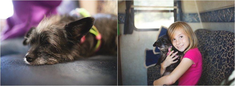 Dogs and Camping | Santa Cruz | Mary Humphrey Photography