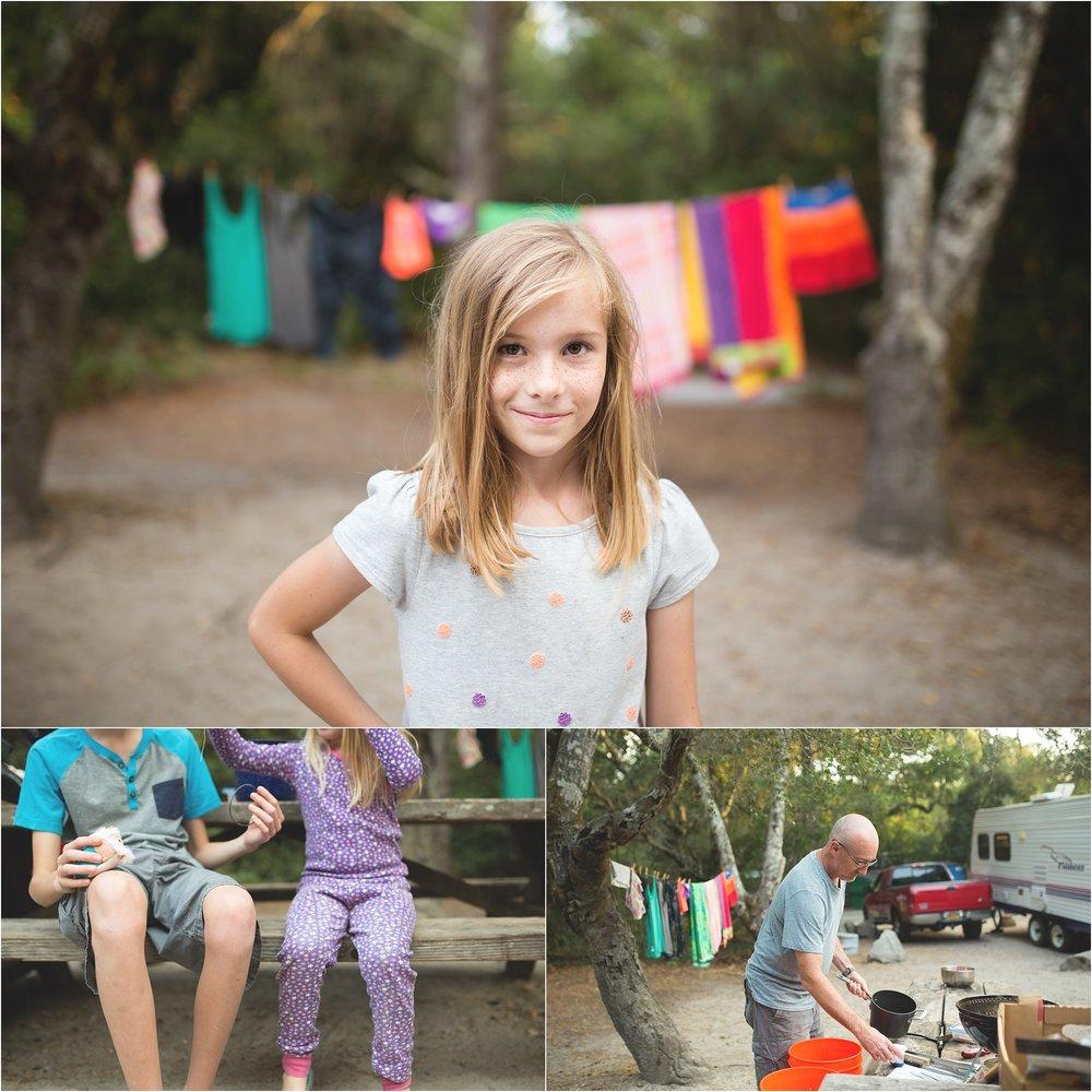 Santa Cruz Family Camp Trip | Mary Humphrey Photography