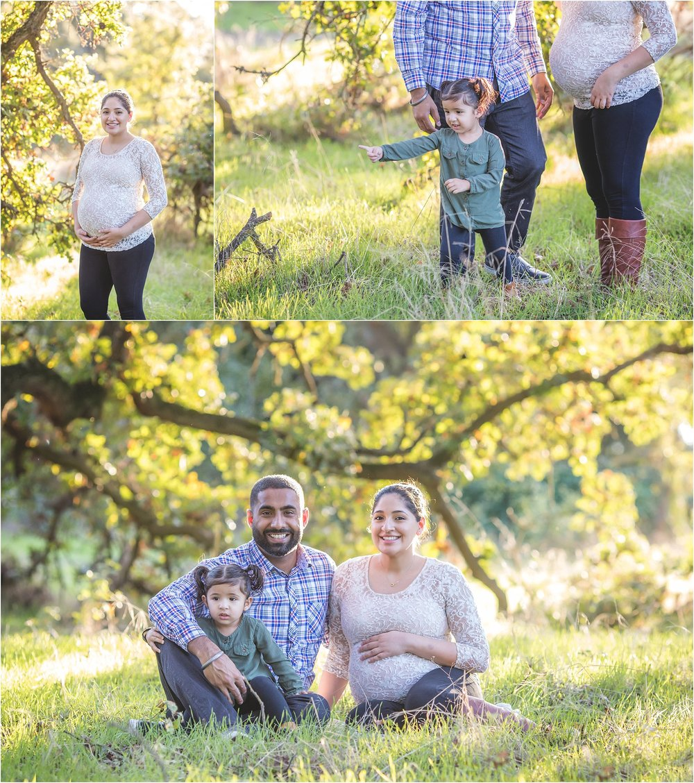 Fall Lifestyle Maternity Session at Oak Grove Park | Mary Humphrey Photography