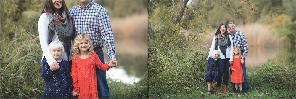 Lake Family Photos | Fall colors | Blond children