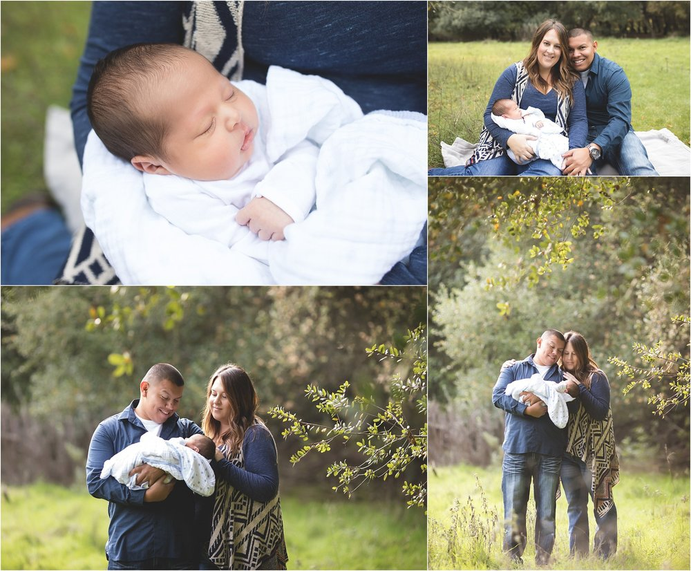 Outdoor Newborn Photography Session | Lodi Lake | Mary Humphrey