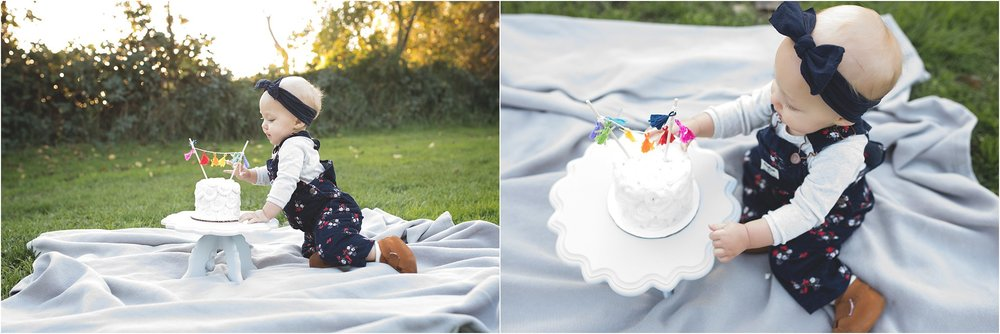 Cake Smash | First Birthday | Mary Humphrey Photography | Lodi