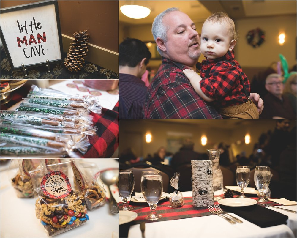 Little Man Cave | Lumberjack Birthday Party in the Central Valley