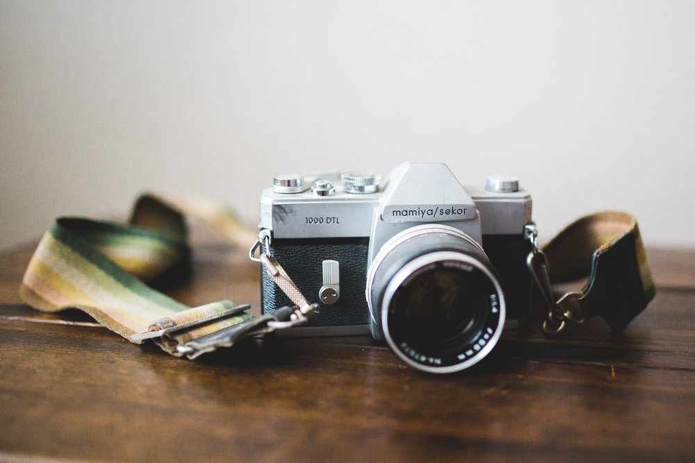 Retro Film Camera | Mary Humphrey Photography