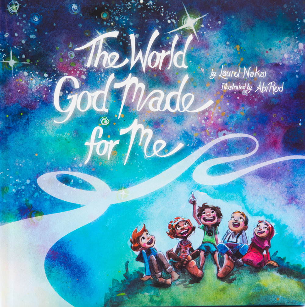 Latest Book!The World God Made for Me - Trying to teach your young child about God in a kid friendly way?This beautifully illustrated kid's book about God is colorful, fun, and reminds kids that God exists in all of creation.Get to know other faiths or start a conversation about your ownWith a unique interfaith approach, parents and children can customize their experience and interact with each other.May this book bring joy, peace, and discovery to you and your little ones, whose natural curiosity and love help us to see the divine in all things.