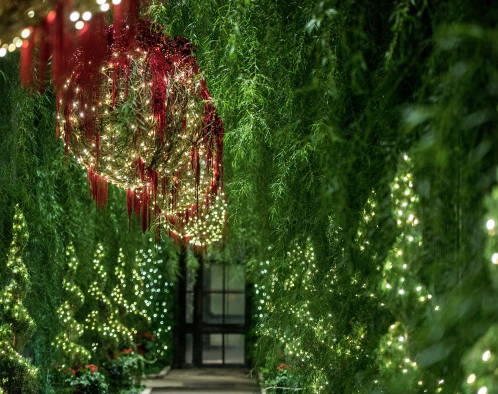 Where to stay to see A Longwood Christmas