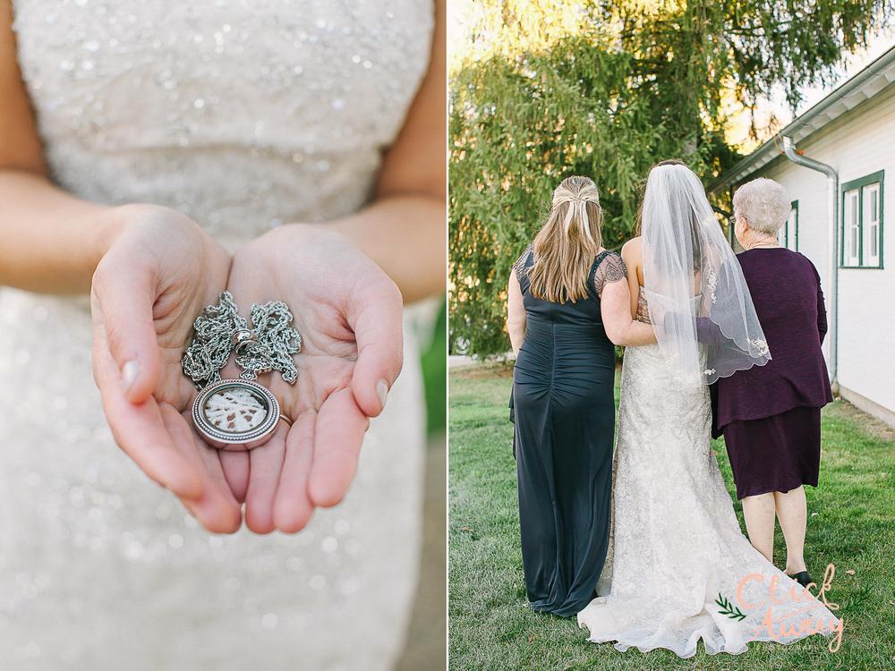 locket heirloom grandma, mother, and bride