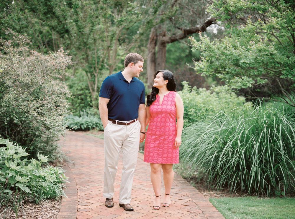 Daniel Stowe Botanical Gardens Engagement