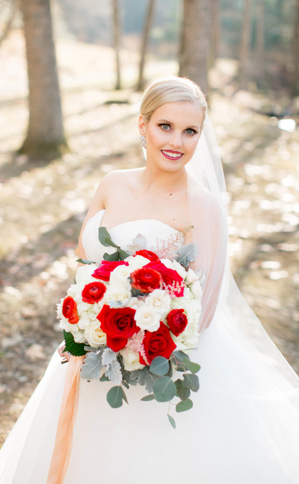 Bridal portrait film photographer Charlotte NC
