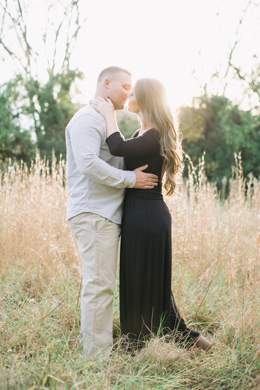 engagement session in concord, nc