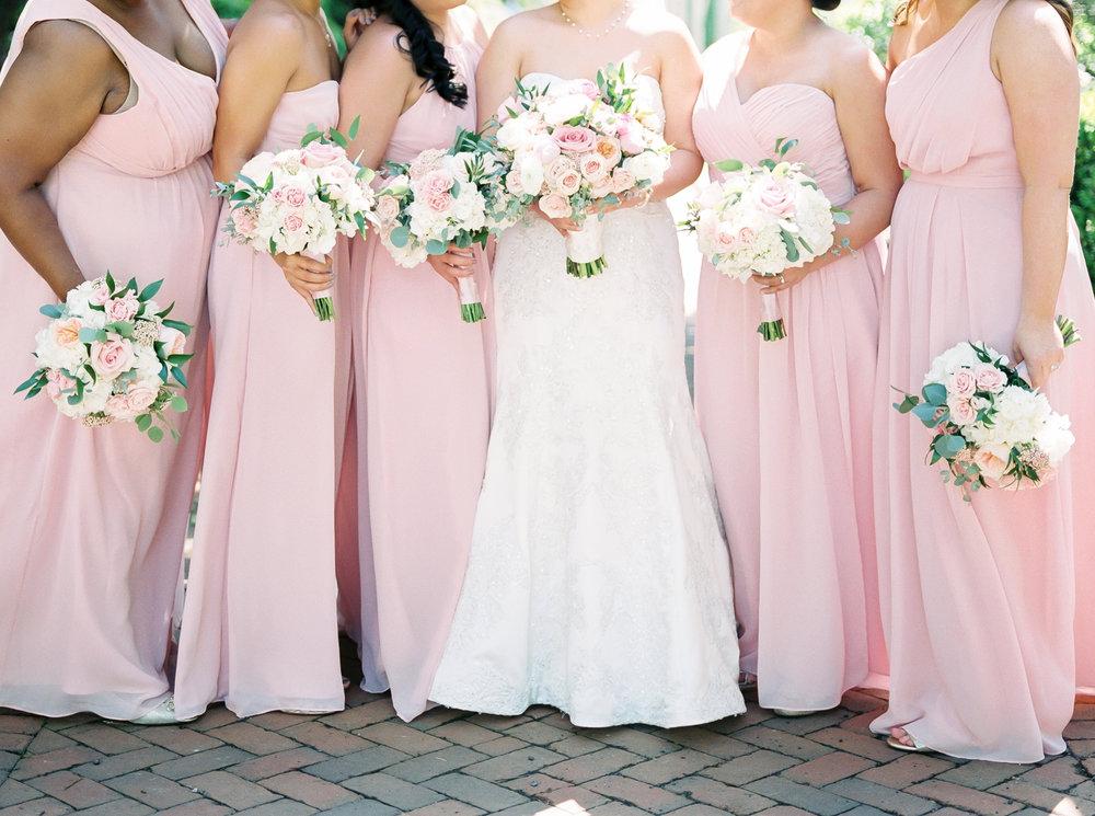 weddings with barbara at daniel stowe botanical gardens