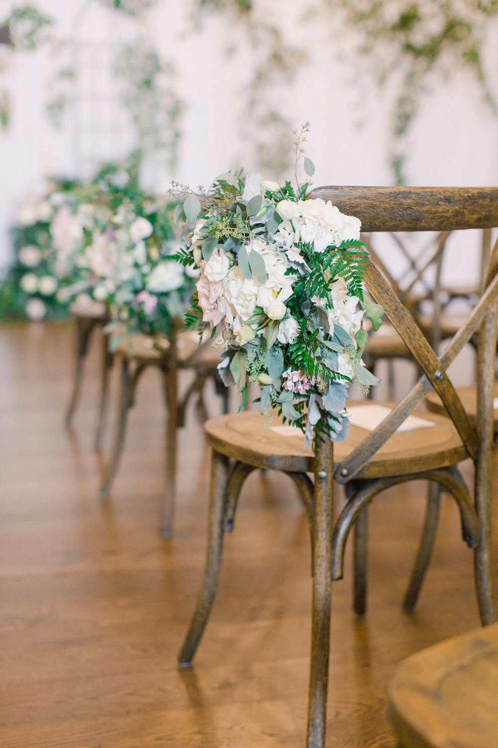 x back wedding chair ideas