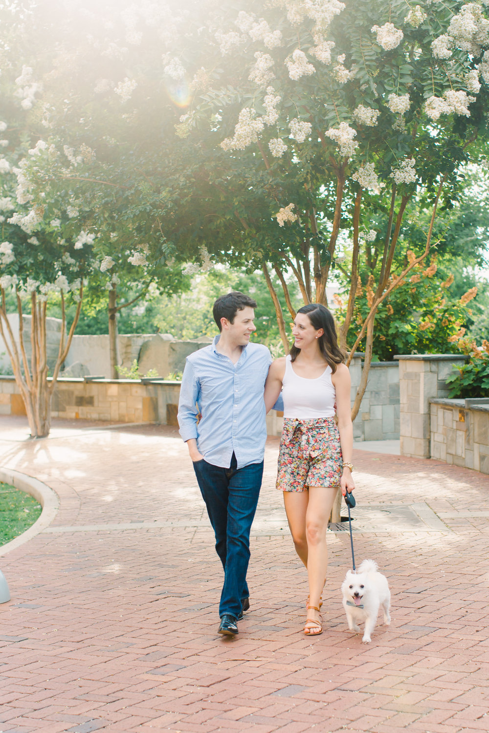 engagement session charlotte