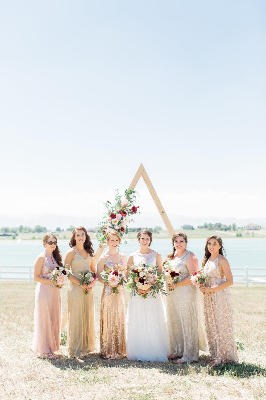 colorado bridesmaids