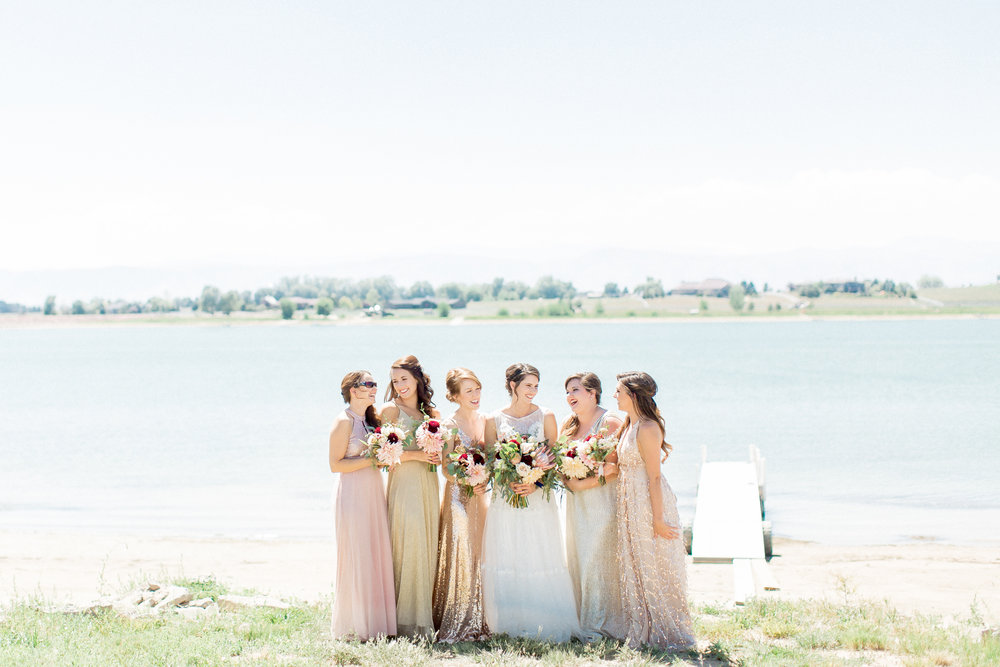 bridesmaids colorado wedding