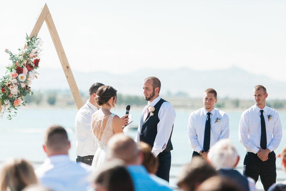 fort collins colorado wedding ceremony