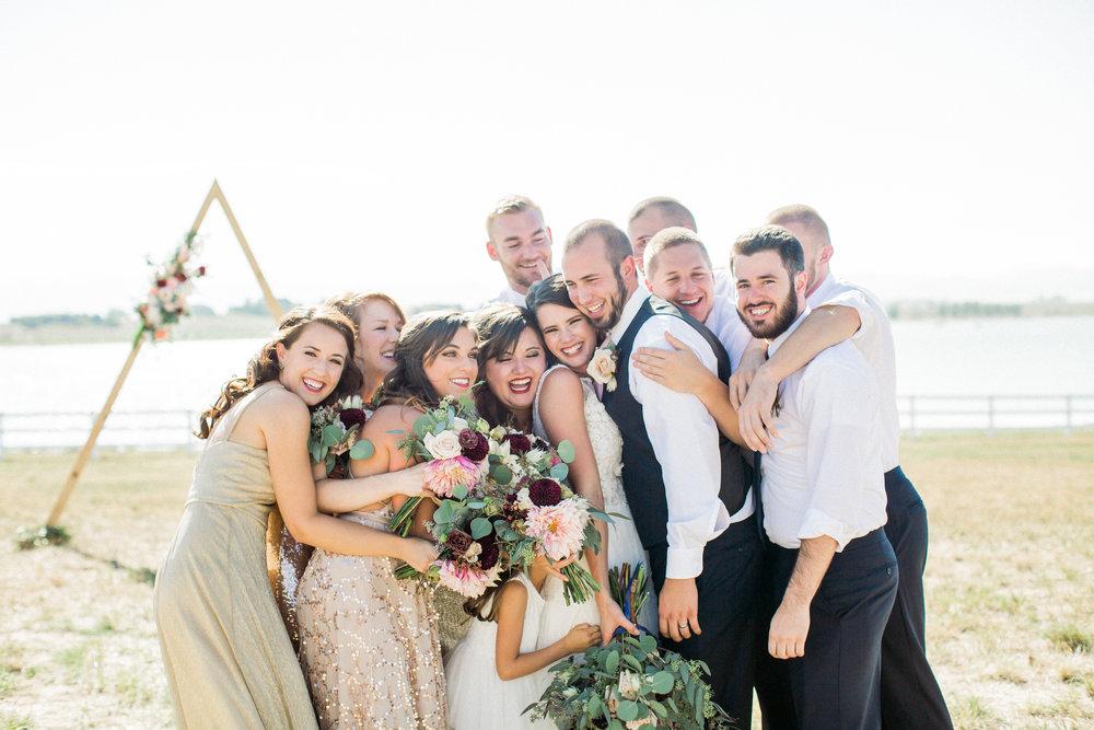 bridal party photo ideas