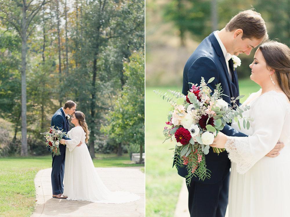 bride and groom nc wedding venue