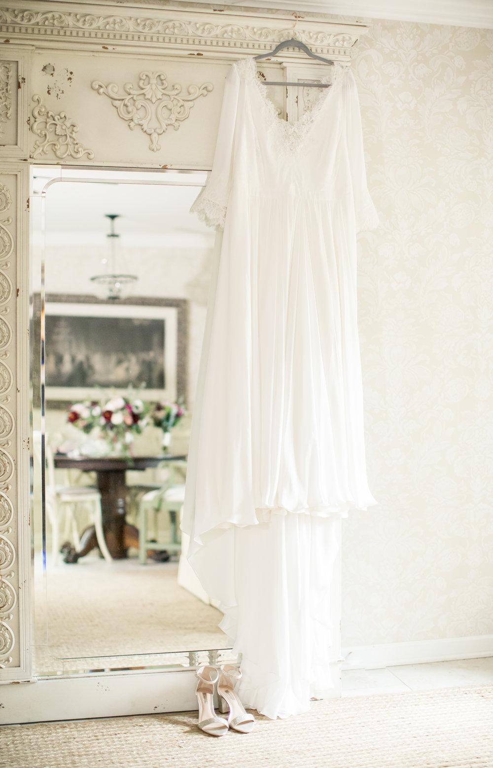 brides dress nc wedding