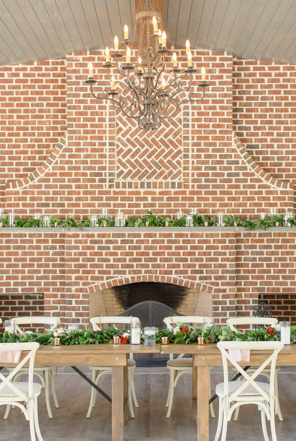 reception at johnson carriage house