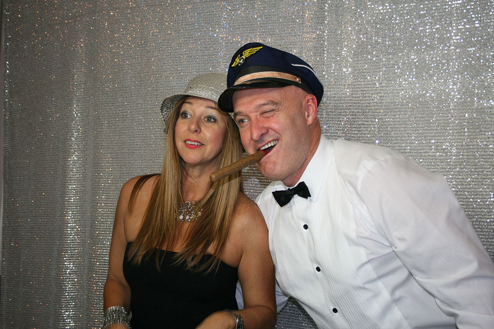 Hamming it up for the Photo Booth at the Gala Ball
