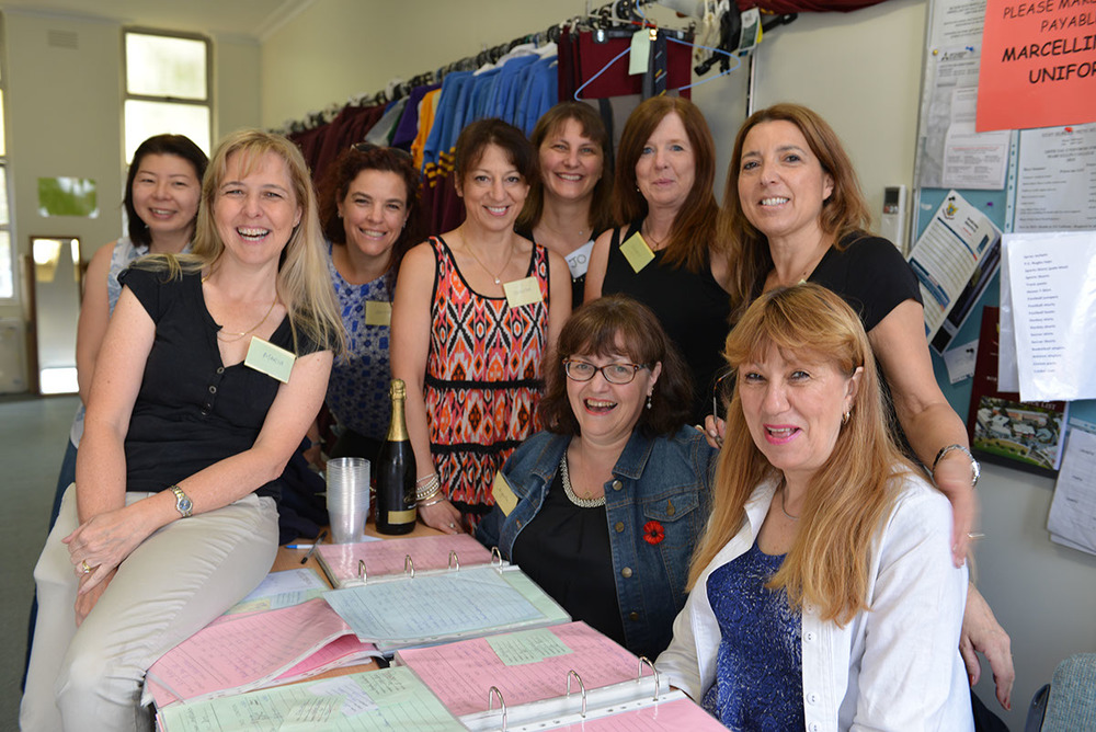 The Second Hand uniform shop is run entirely by volunteers