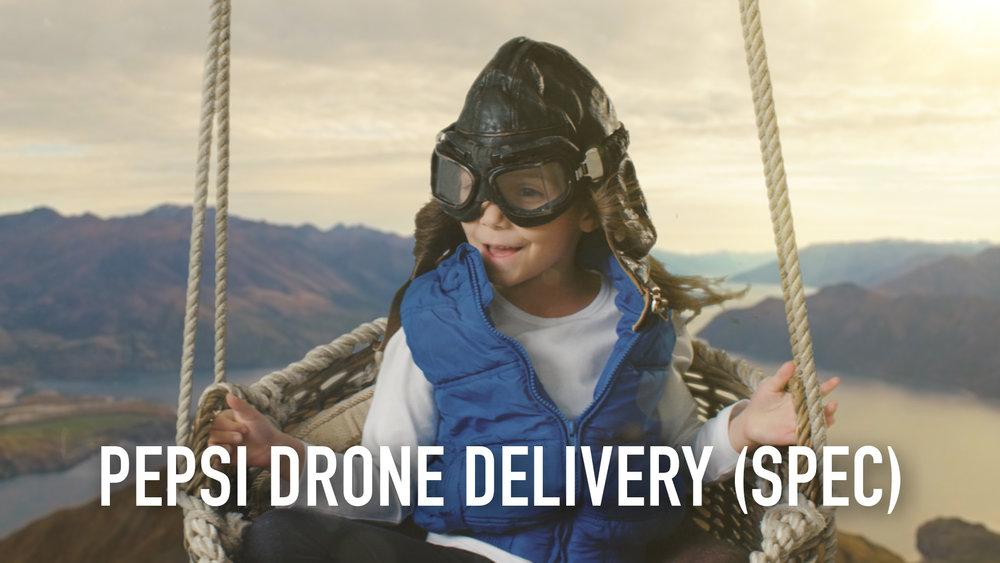 Pepsi Drone Delivery