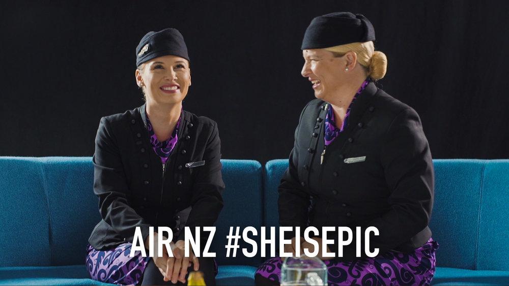 Air NZ International Womens Day
