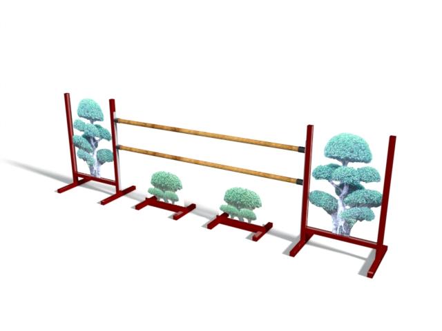 Safari Custom Set - Stock: 1 (2 standards & 2 hurdles)