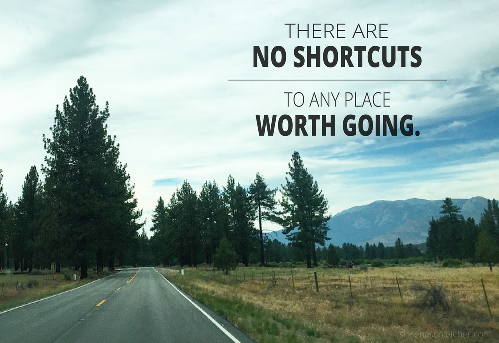 There are no shortcuts to any place worth going. #life #journey #inspiration #truth #hardwork