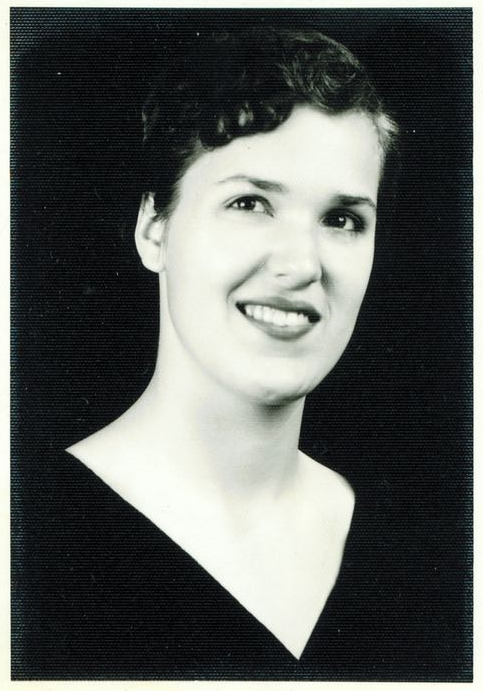 Carolaine, Senior, Ann Arbor High School, 1959