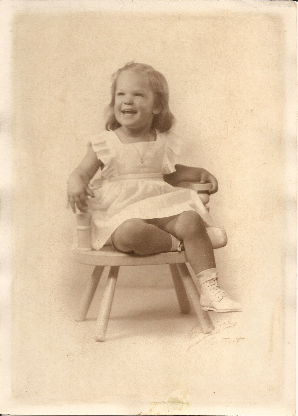 Carolaine about 3 yrs old