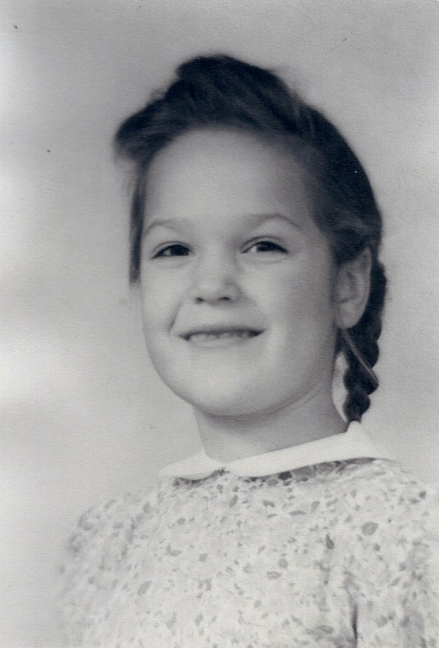 Carolaine about 8 yrs old