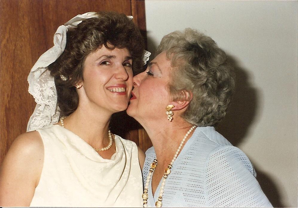 Mom was so happy for Carolaine.