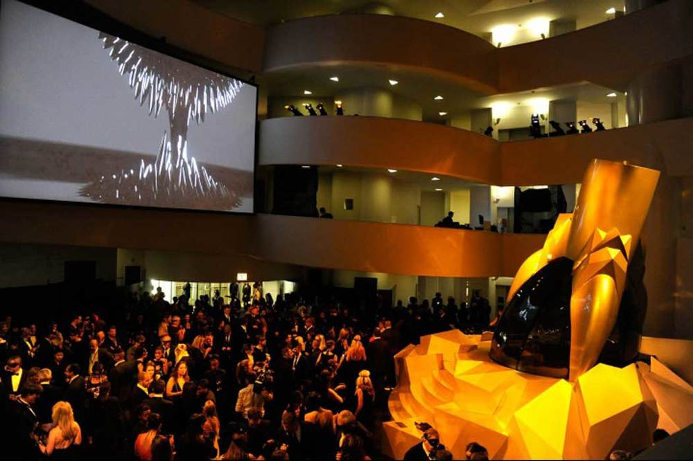 Lady Gaga Fame Fragrance Launch: Guggenheim Museum
