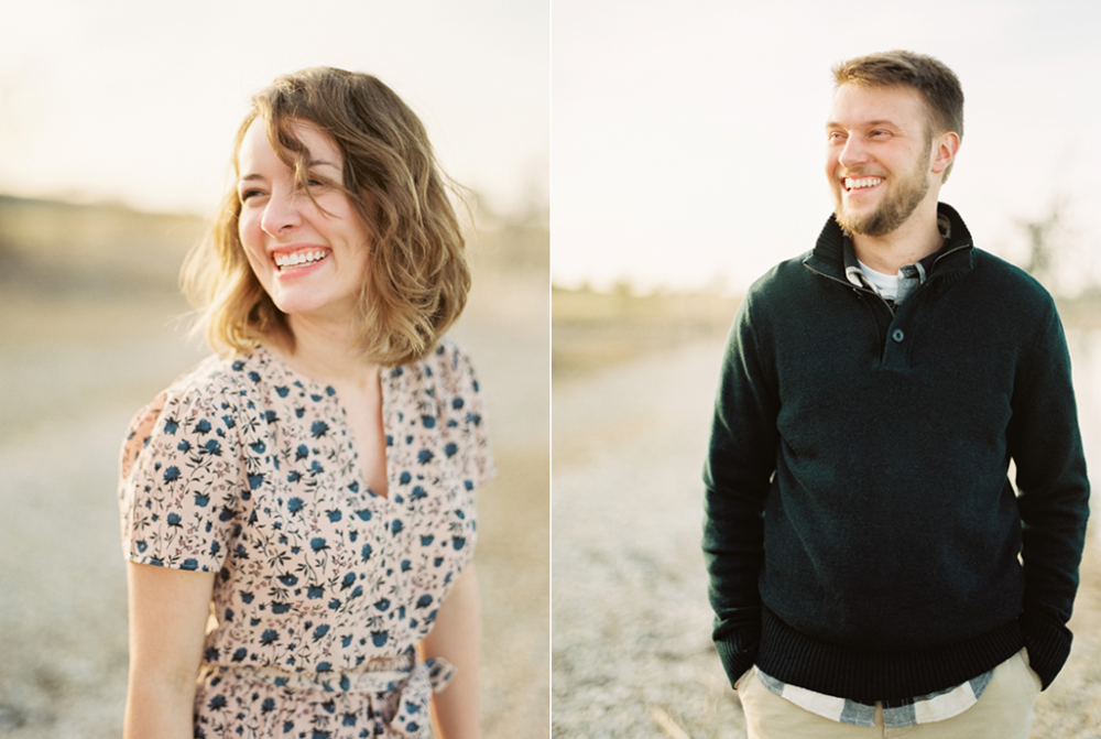 Lake Waco engagement session