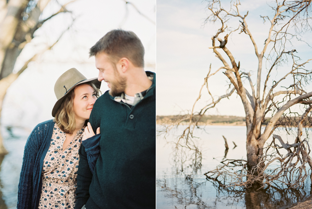 Lake Waco engagement photographer