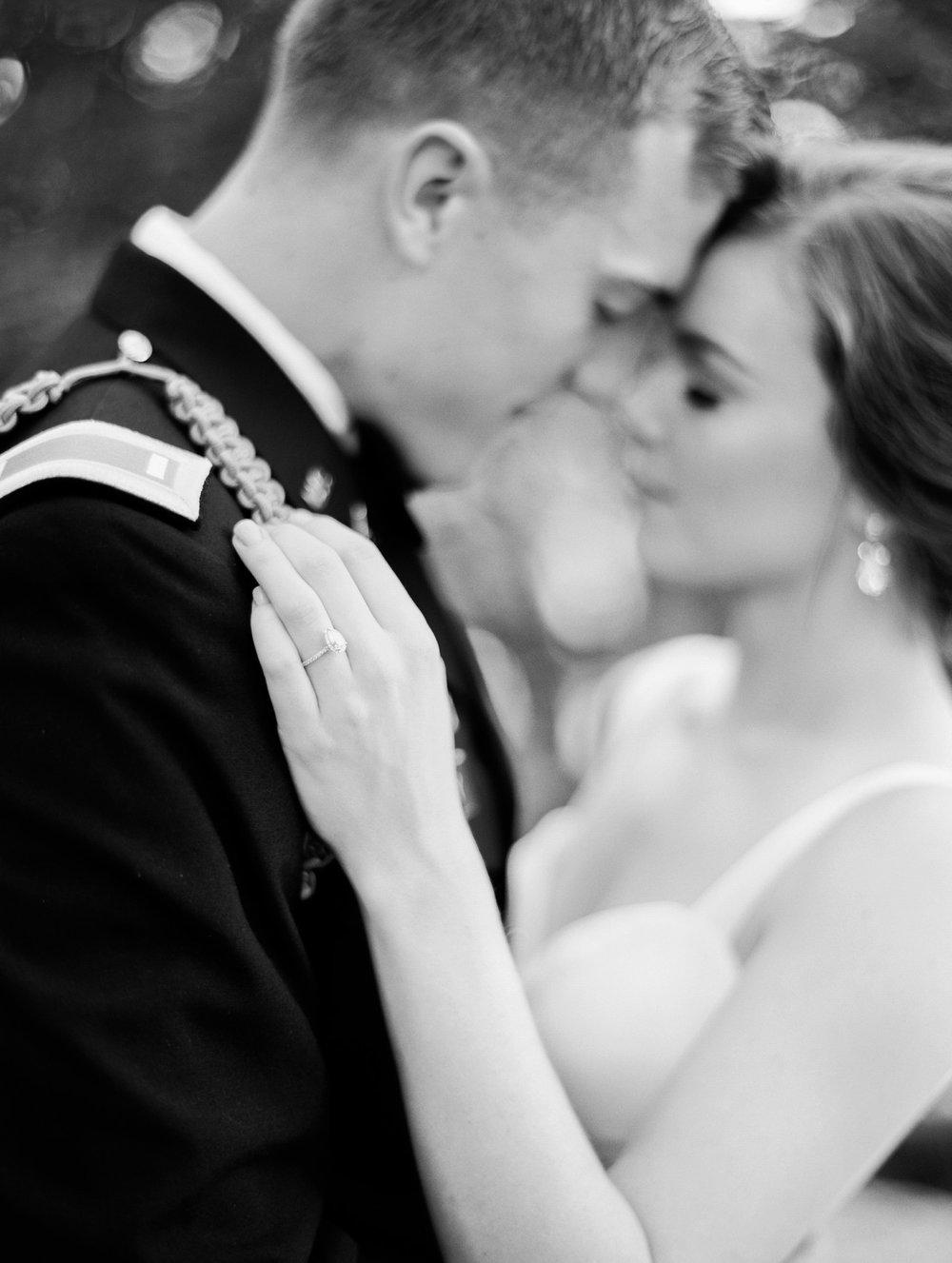 Modern Military wedding