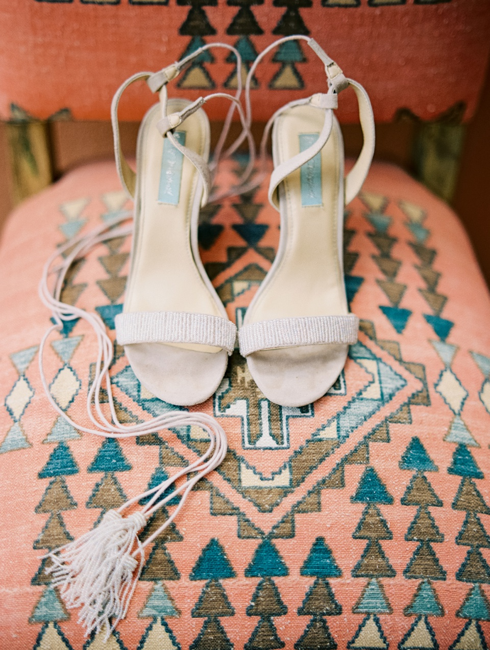 Betsy Johnson tassle shoes | Becca Lea Photography