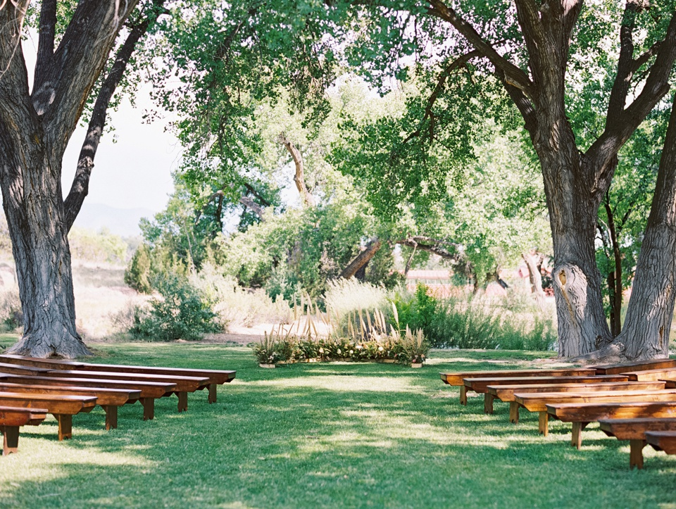 La Mesita Ranch Wedding, Santa Fe | Becca Lea Photography