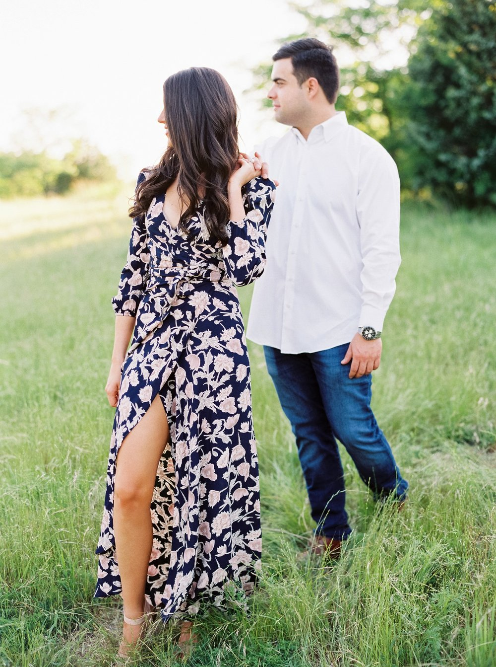 Becca Lea Photography, Fine art film wedding photographer, Contax 645, Fuji 400h, Portra 800, Photovision Prints, Film Photographer, Fine Art Wedding Photographer, Dallas Engagement Photographer, Dallas Wedding Photographer, ASOS layered skirt, Luxury Wedding Photographer