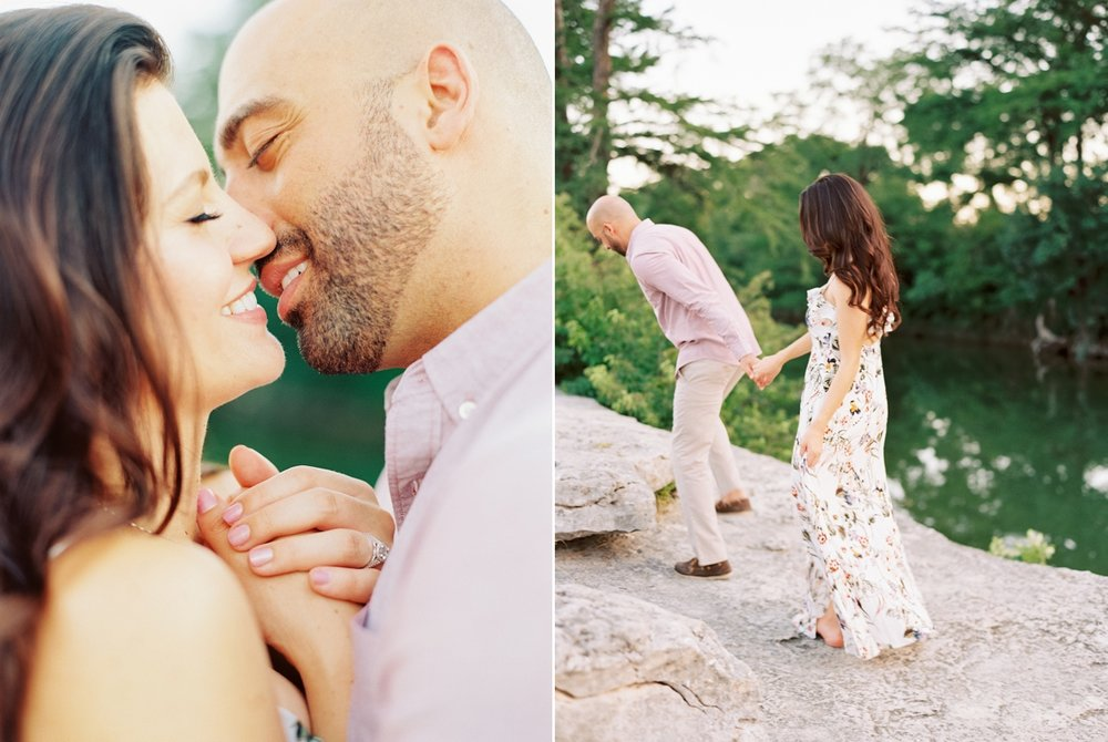 Becca Lea Photography, Fine art film wedding photographer, Contax 645, Fuji 400h, Photovision Prints, Austin Engagement Photographer, McKinney Falls Engagement, Austin Wedding Photographer, Austin Photographer, Makenzi Laine Hair and Makeup, Destination Wedding Photographer, Fine Art Bride, Editorial Wedding Photographer